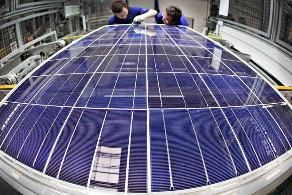 2017 beschäftigte Solarworld noch rund 3000 Mitarbeiter.