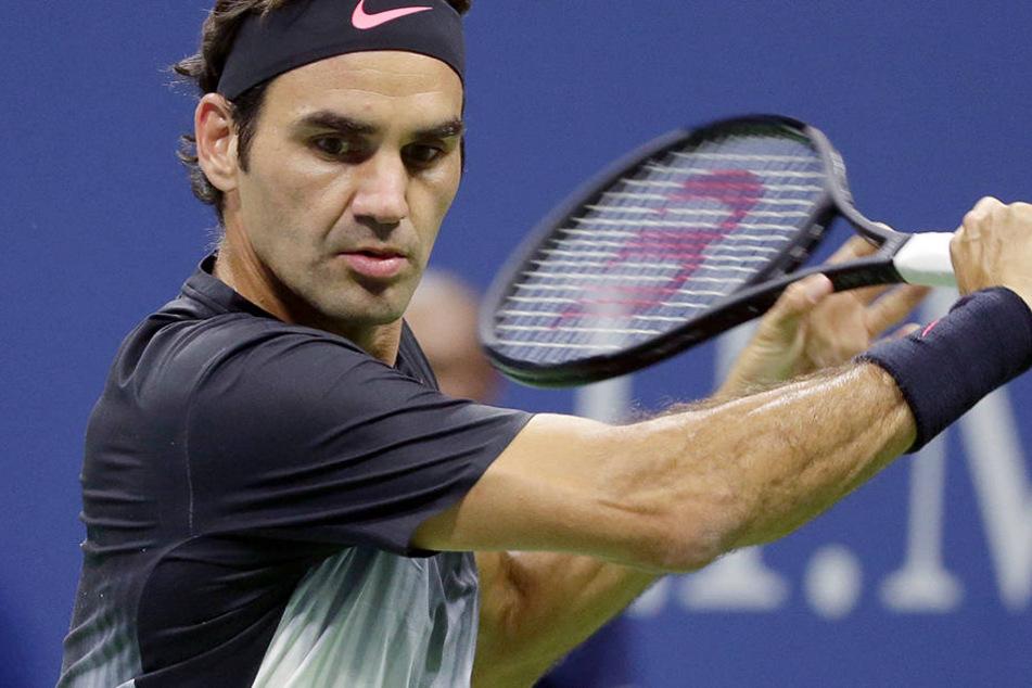 Roger Federer (36) machte den Traum eines Zehnjährigen wahr.