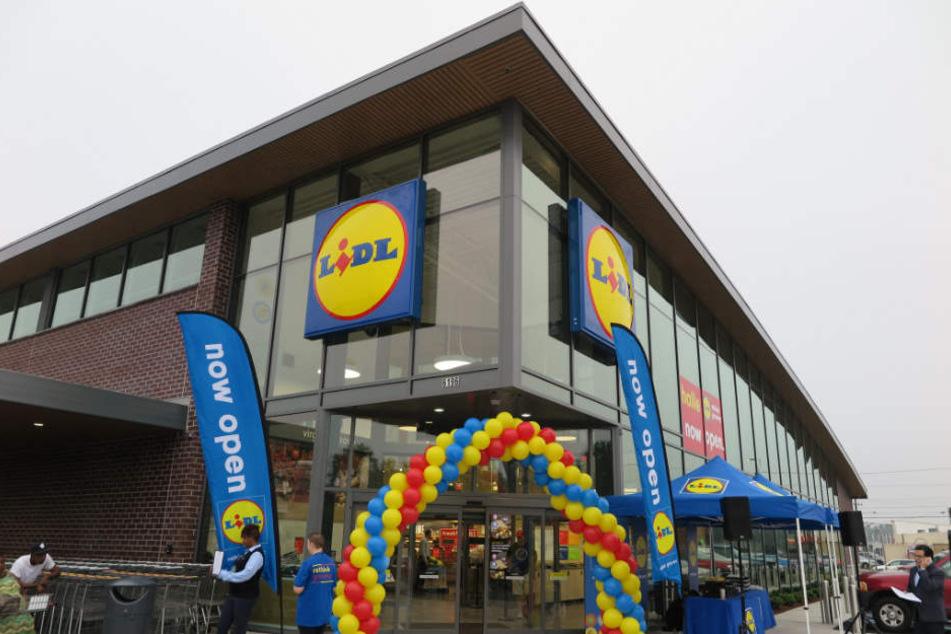 Mittlerweile gibt es in den Vereinigten Staaten 53 Lidl-Filialen. Im Bild: Die Eröffnung eines Ladens in Virginia Beach.