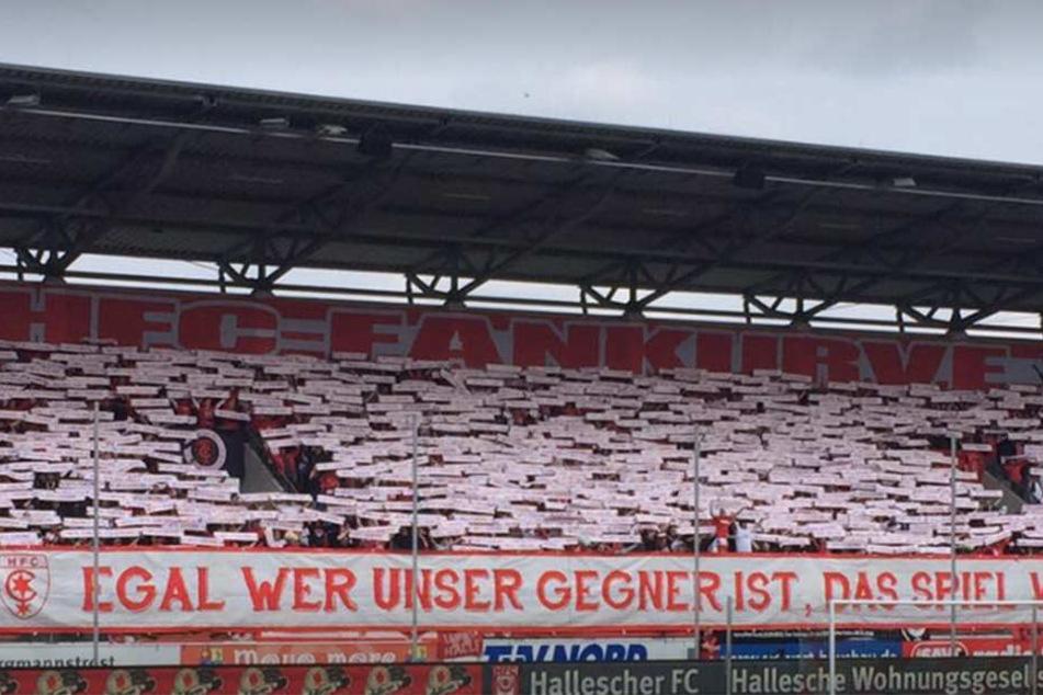Im April treffen Lok Leipzig und der Hallesche FC nach Jahren erstmals wieder aufeinander. (Symbolbild)