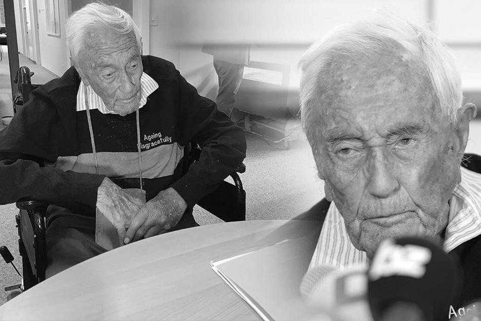 Er ist tot! 104-Jähriger stirbt nach Gift-Infusion