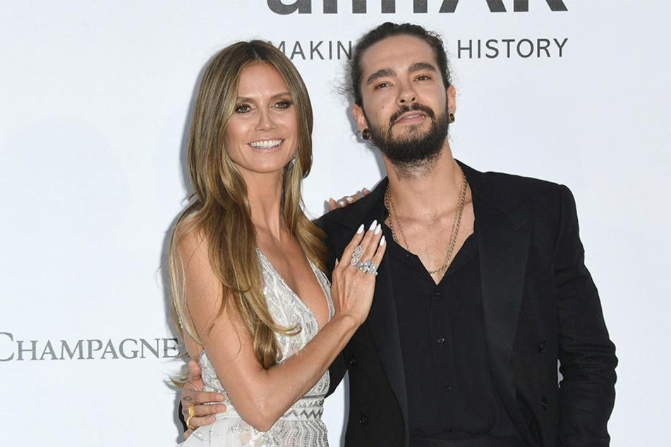 Heidi Klum stellt ihre Liebe zu Tom Kaulitz gerne öffentlich zur Schau.