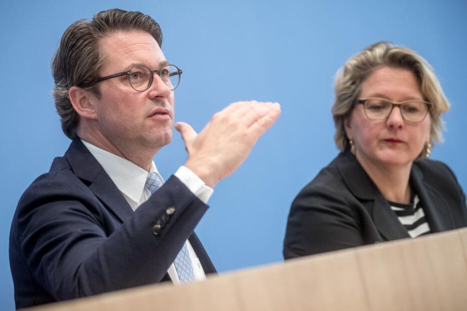 ...die befragte Ministerin Svenja Schulze wusste zumindest, wie man NICHT antwortet.