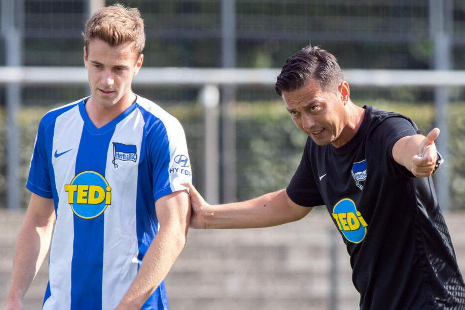 Ante Covic spricht mit Lukas Klünter.