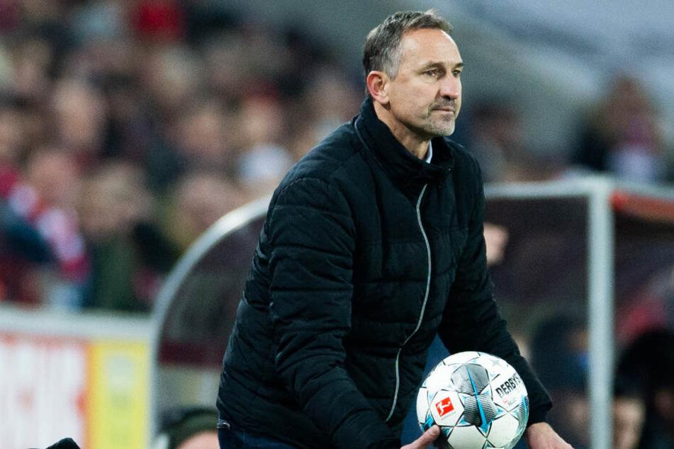 Achim Beierlorzer (51) könnte vor einer Rückkehr auf die Trainerbank stehen.