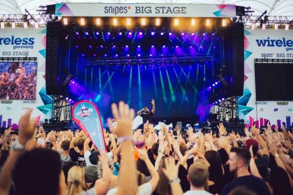 Die Premieren-Ausgabe des Wireless Germany Festivals fand im Jahr 2017 in der Commerzbank Arena in Frankfurt statt.