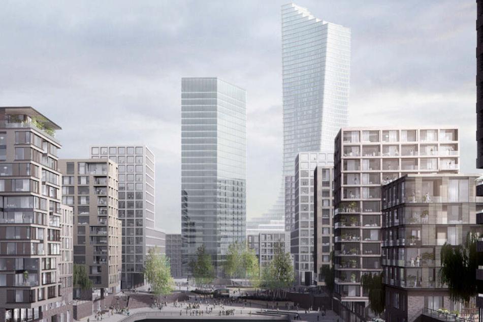 So sieht Hamburgs Zukunft aus: Diese Großprojekte gehen 2019 in Bau!