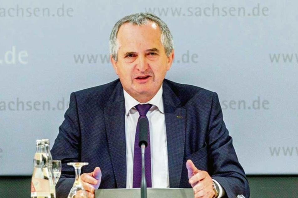 Thomas Schmidt (CDU) möchte, dass sich die Sachsen privat besser auf Hochwasserereignisse vorbereiten.