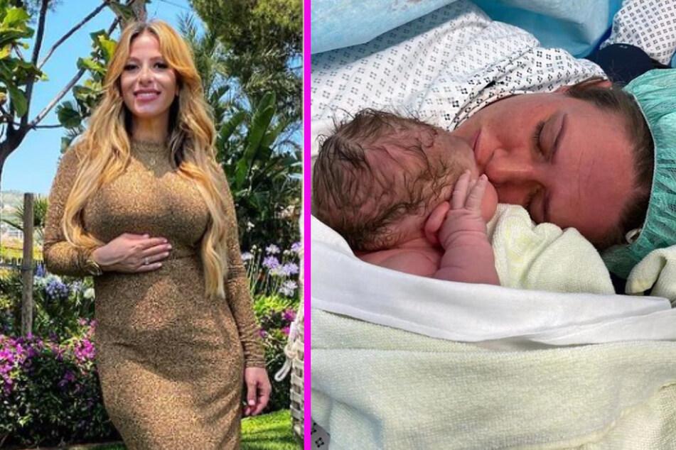 Gülcan Kamps (38, l.) erwartet ihr erstes Kind. Sarah Knappik (34) hat ihres bereits bekommen.
