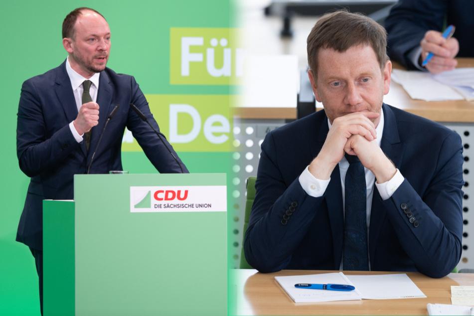 """Kretschmer über Wanderwitz-Aussagen: """"Muss mit solchen Äußerungen vorsichtig sein"""""""