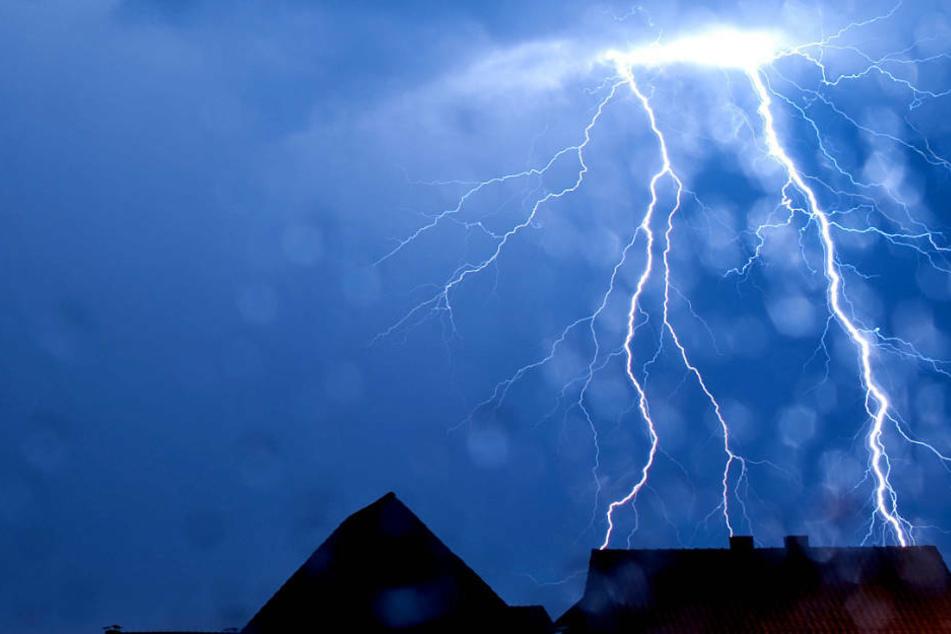 Offenbach ist Hessens Hotspot der Blitze