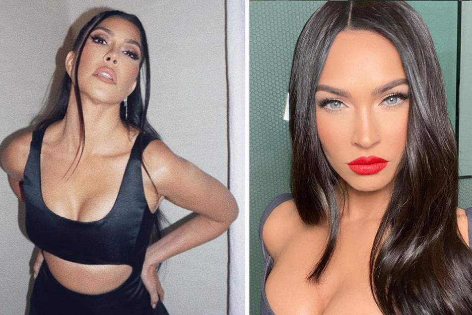 Megan Fox and Kourtney Kardashian strip down and get close in new SKIMS campaign