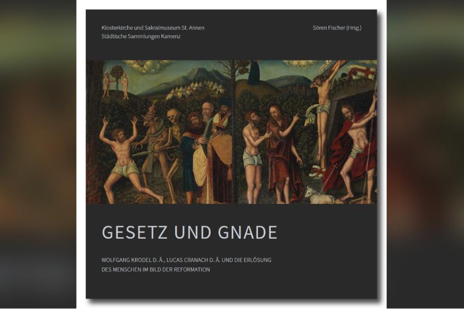 """Das 1542 entstandene Doppelgemälde """"Gesetz und Gnade"""" von Wolfgang Krodel wurde als schockierend und gewaltverherrlichend eingestuft."""