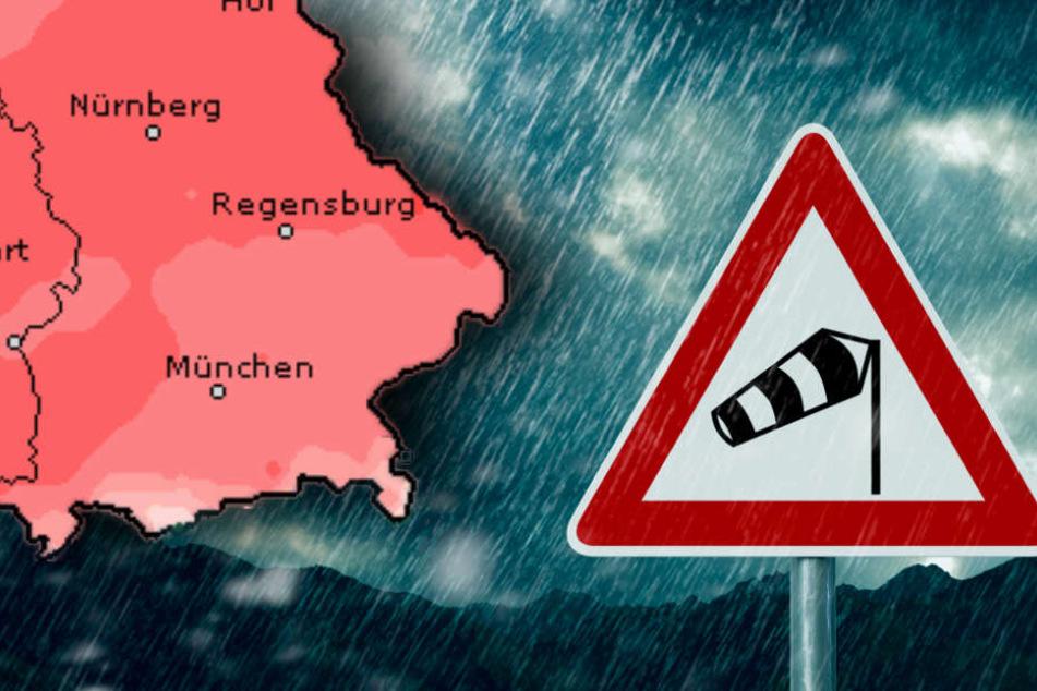 Achtung, stürmischer Sonntag: Orkan fegt über Bayern hinweg