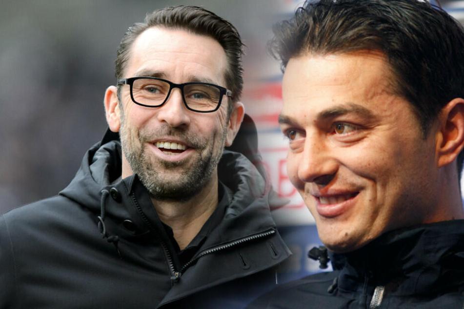 Michael Preetz befördert Ante Covic zum Cheftrainer. (Bildmontage)