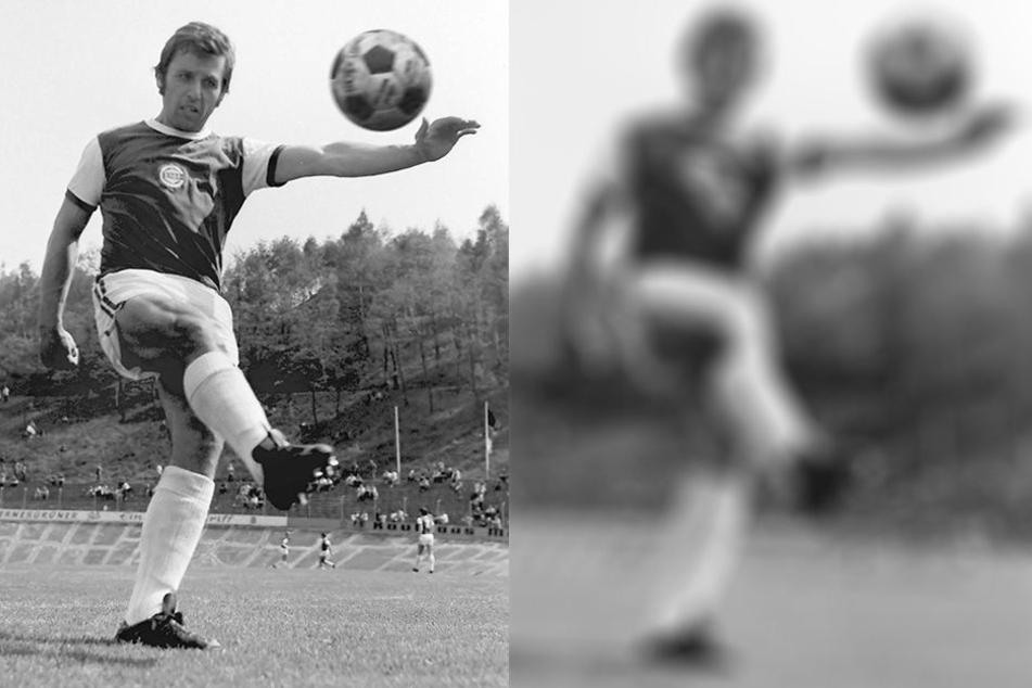 Torjäger Klaus Havenstein 1978 in Aktion. Damals wurde er mit 15 Treffern DDR-Torschützenkönig.