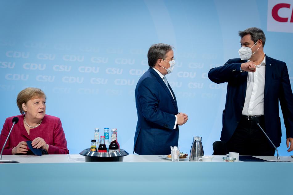 Auch Kanzlerin Angela Merkel (66, CDU) nahm an dem Treffen teil.