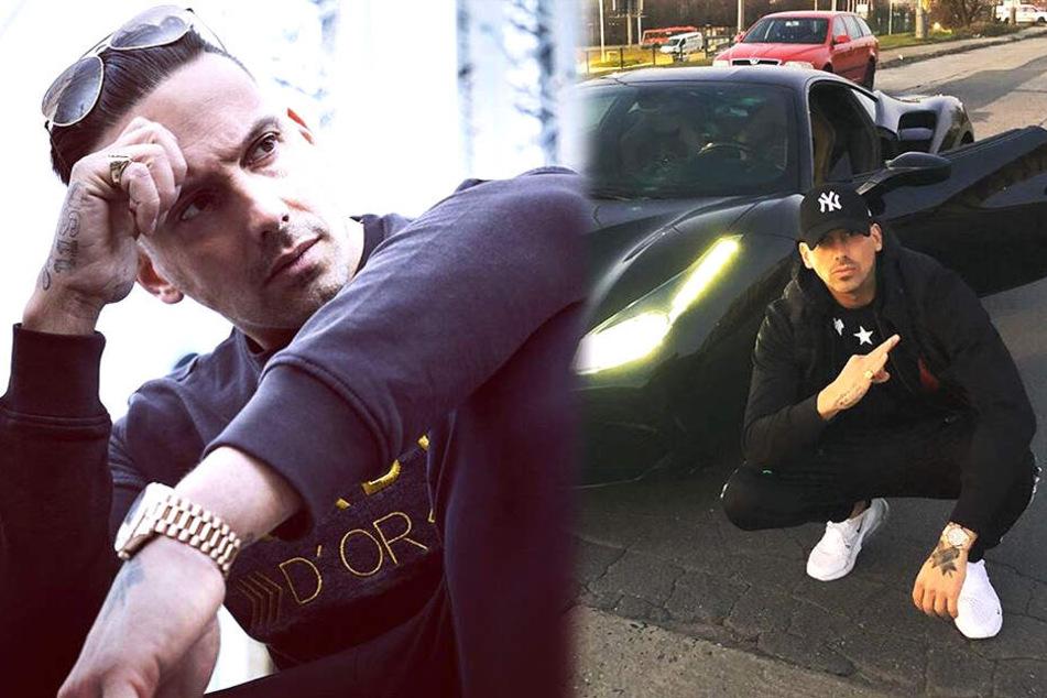 """Einen eigenen Song über einen """"Maserati"""" hat Rapper Raf Camora bereits. Folgt nun ein Titel über seinen Ferrari?"""