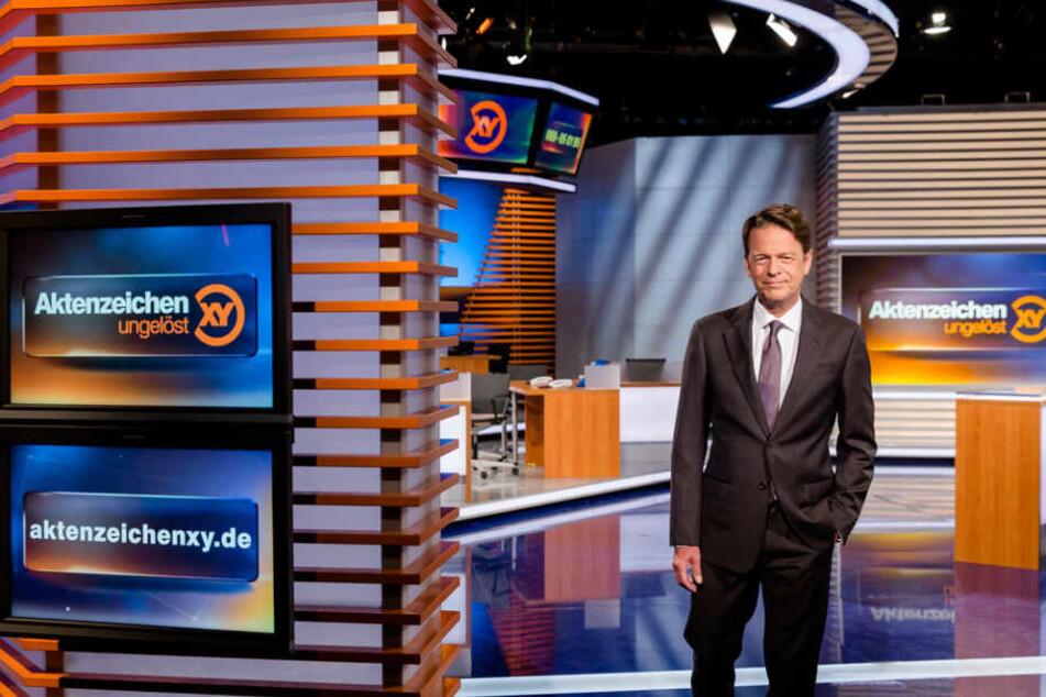 """Rudi Cerne (60) präsentierte den Vermisstenfall Christina Hermert am 24. Juli in einer """"Aktenzeichen XY""""-Sondersendung."""