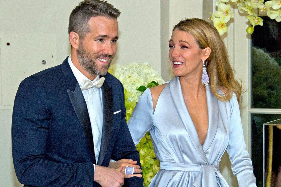 Ryan Reynolds und seine Frau Blake Lively.
