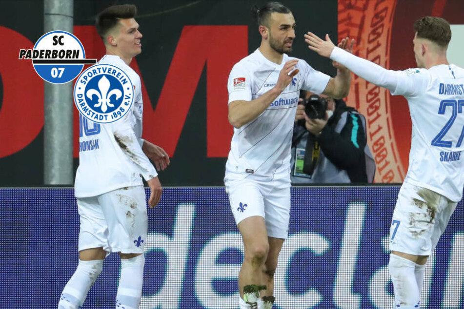 Was ein irres Spiel! SV Darmstadt 98 holt Dreier beim SC Paderborn