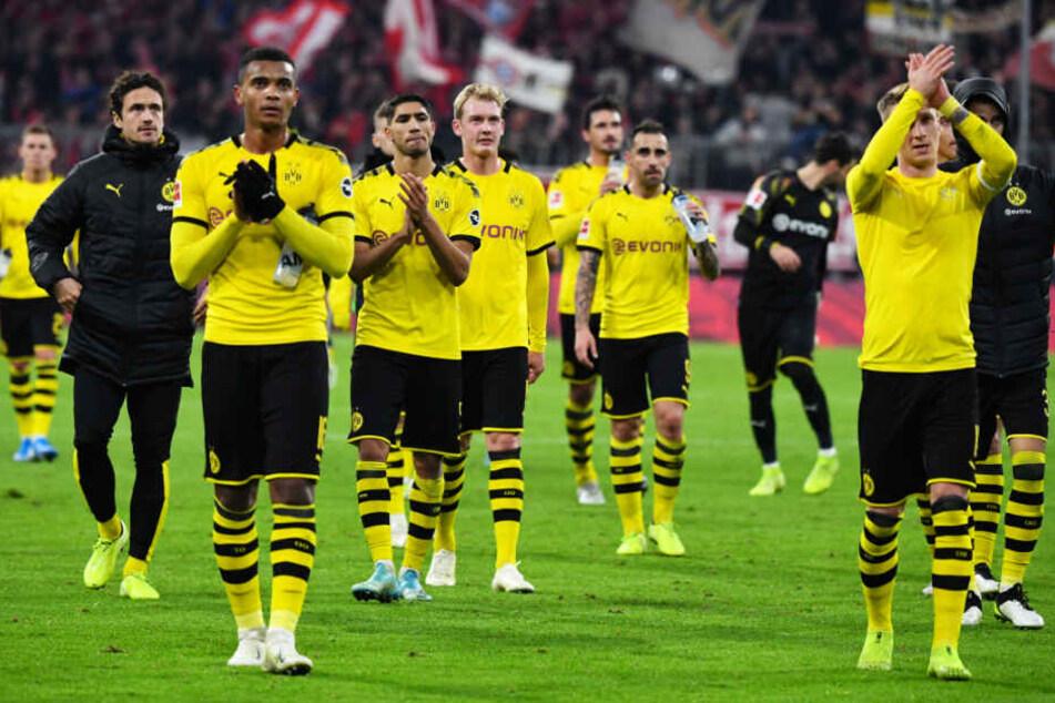 Betretene Gesichter beim BVB: Dortmund ging in München unter.