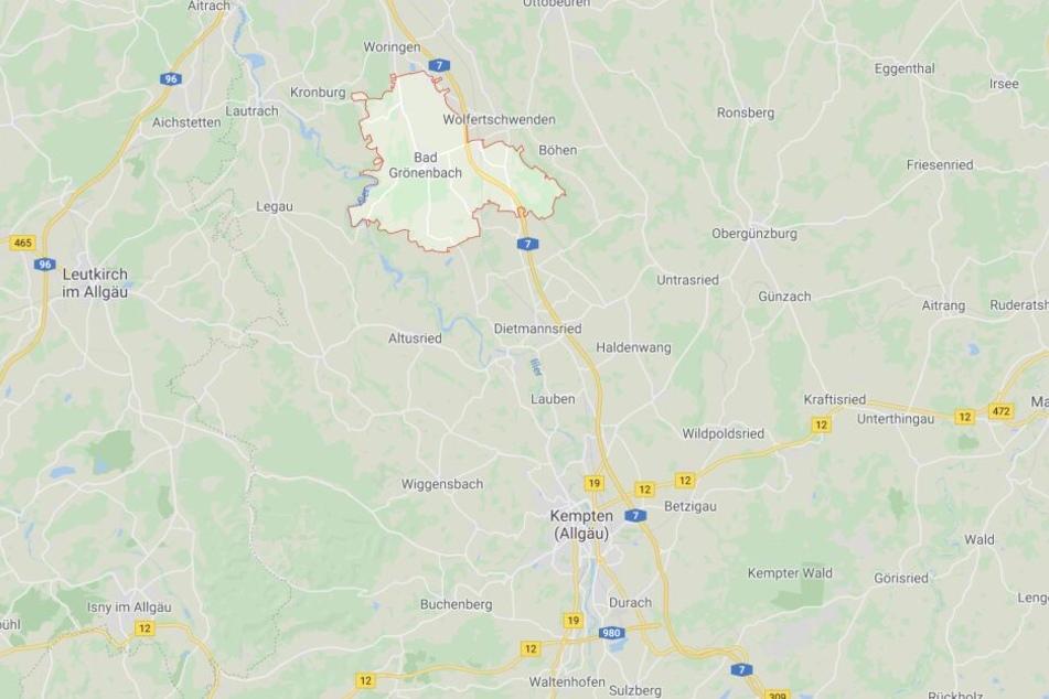 In Bad Grönenbach in Bayern ist es zu einem kuriosen Zwischenfall gekommen.