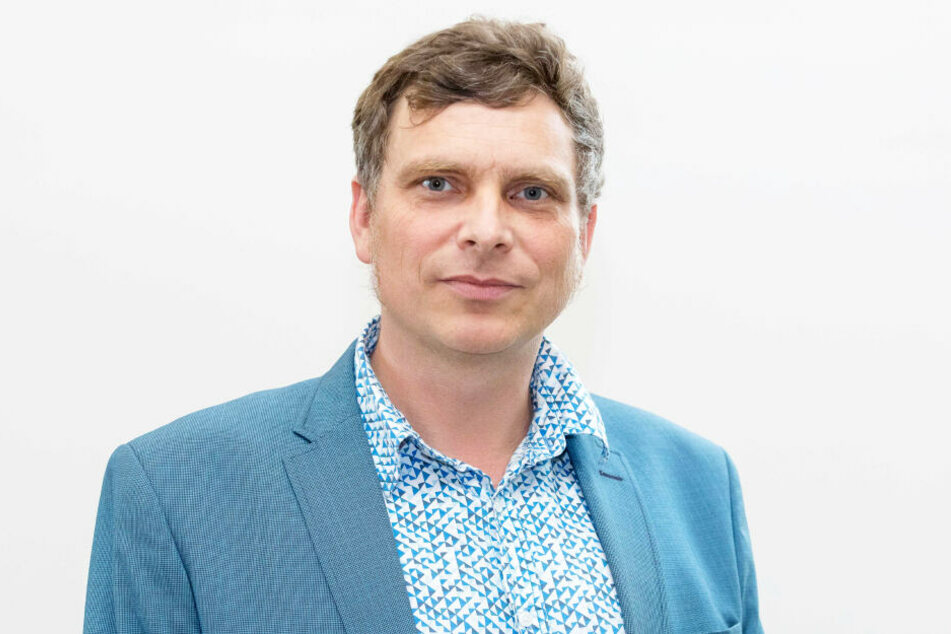 Stadtrat Thomas Löser (47, Grüne) bringt den Neustädter Markt ins Gespräch.
