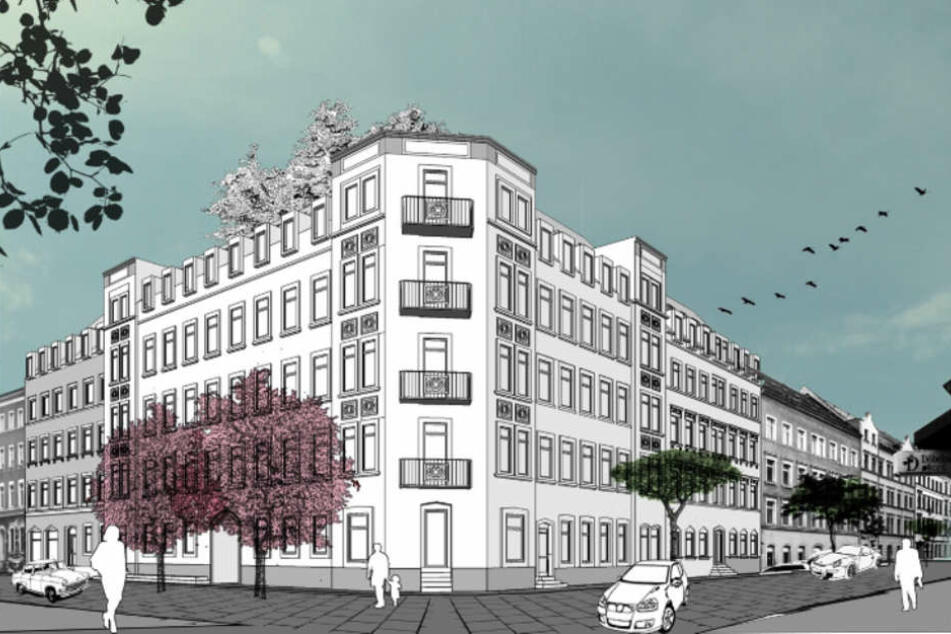 Am Brühl sollen 3- und 4-Raum-Eigentumswohnungen entstehen.