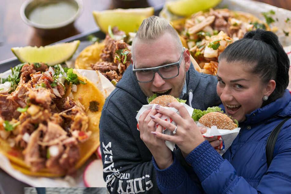 Internationale Häppchen! Erstes Streetfood-Festival