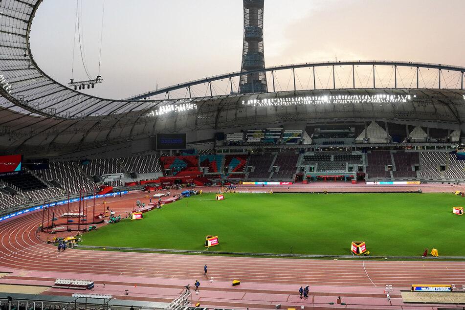 Das Khalifa International Stadium in Katar ist einer der Austragungsorte der FIFA WM 2022.