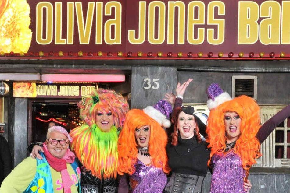 Die Olivia Jones Bar befindet sich auf der berühmt-berüchtigten Großen Freiheit in Hamburg.