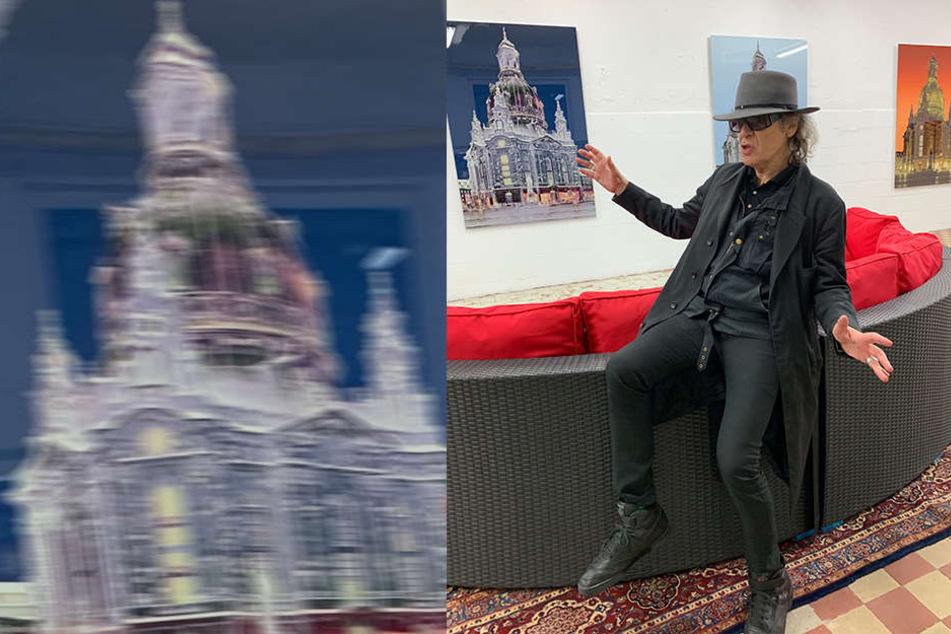 Rocklegende Udo Lindenberg (72) freut sich an der Frauenkirche - aber nicht in Dresden.