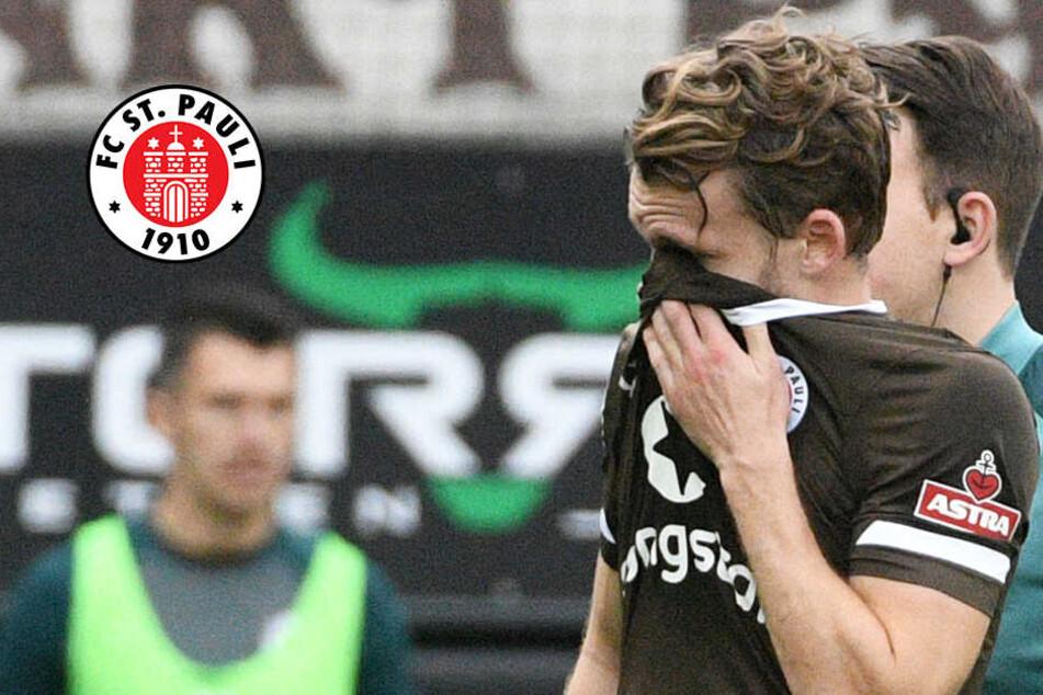 Schock für St. Pauli: Mittelfeld-Stratege Buchtmann fällt lange aus