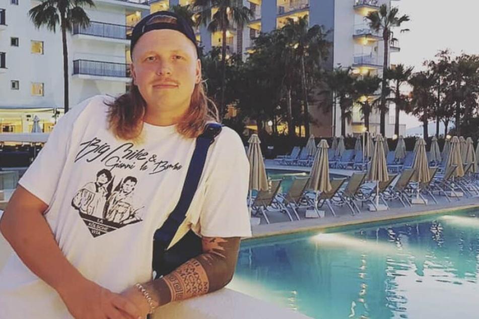 Rapper Finch Asozial trat auch schon am Ballermann auf.