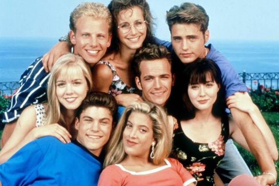Tori Spelling (unten): Nach der TV-Karriere bei Beverly Hills 90210 kam die Mama-Karriere.