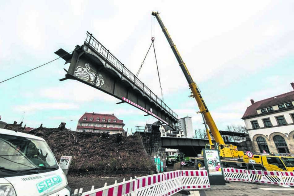 Chemnitz: Reichenhainer Straße am Bahnhof Süd bis Freitag dicht