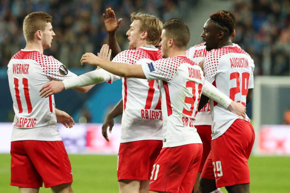 In ihrer ersten europäischen Saison haben die Roten Bullen das Viertelfinale der Europa League erreicht.
