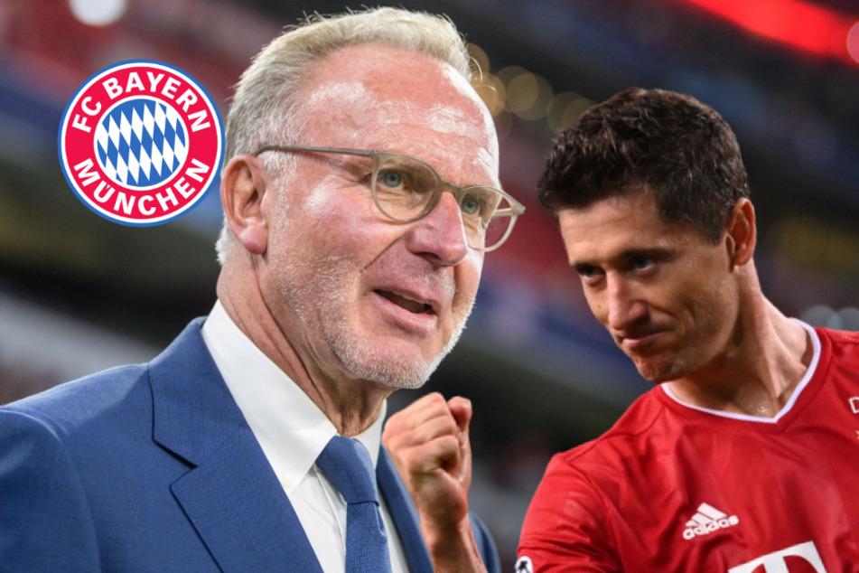 Weltfußballer? Bayern-Boss Karl-Heinz Rummenigge adelt Robert Lewandowski