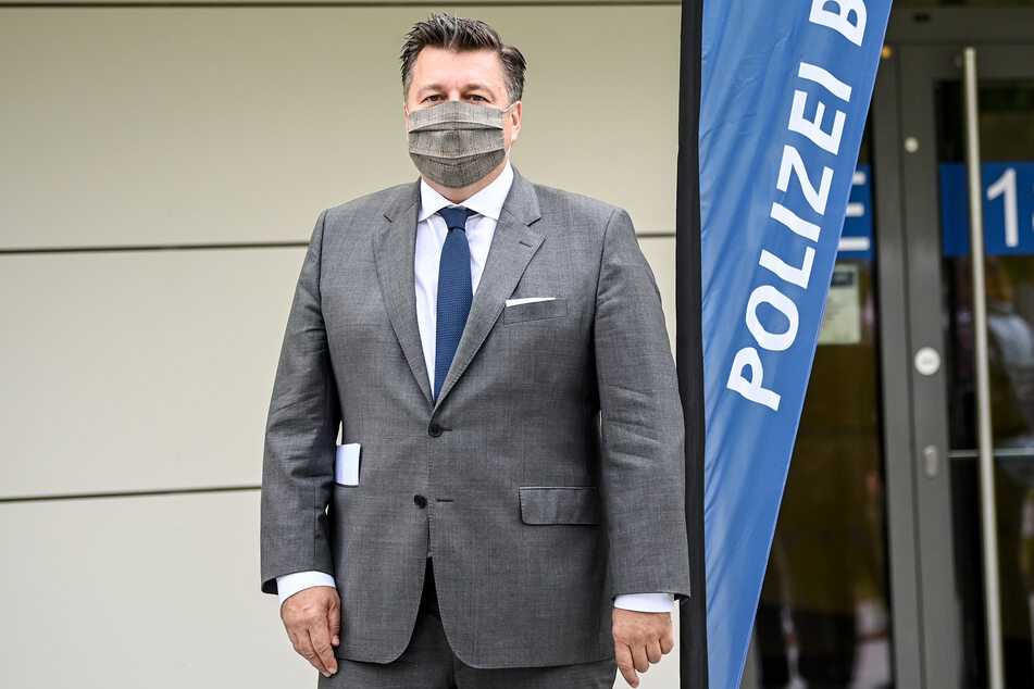 Innensenator Andreas Geisel (SPD) ließ im Frühjahr 2019 eine Ermittlergruppe für die Anschlagsserie in Neukölln einsetzen.