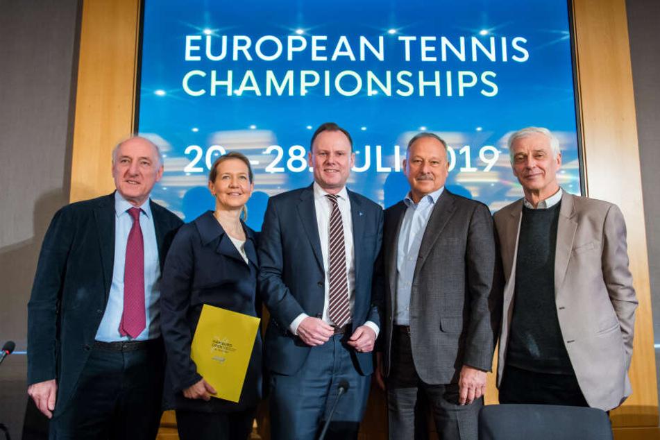 Diese deutsche Stadt bekommt die erste Tennis-Europameisterschaft