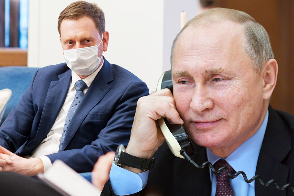 """Kretschmer lädt Putin ein: """"Menschen in Sachsen würden sich sehr freuen"""""""