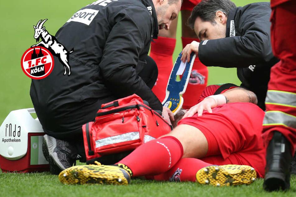 1. FC Köln: Gefährliche Verletzung bei Rafael Czichos, er blieb in Berlin!