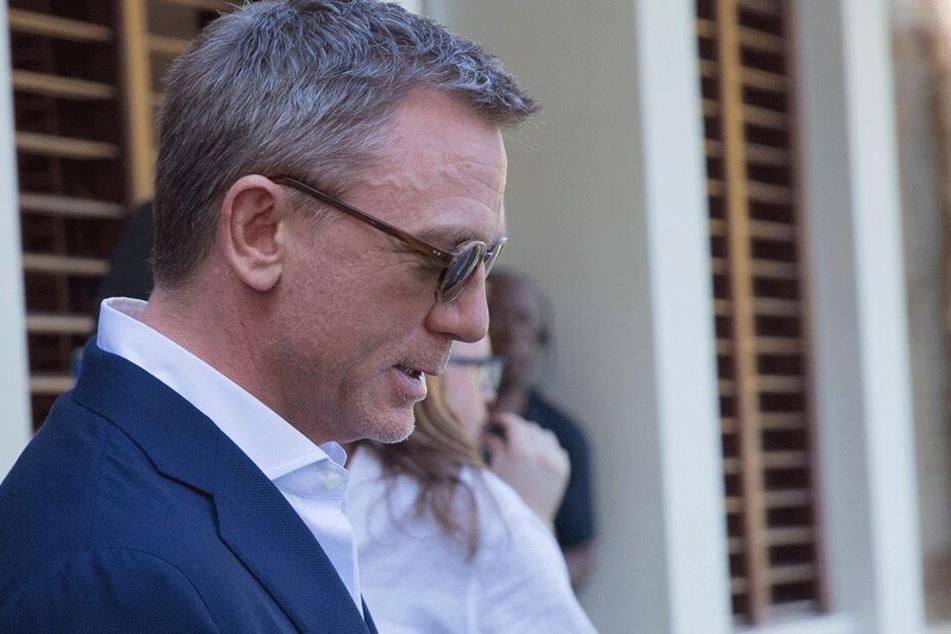 Daniel Craig (51) bei der Bond-Pressekonferenz am Donnerstag.