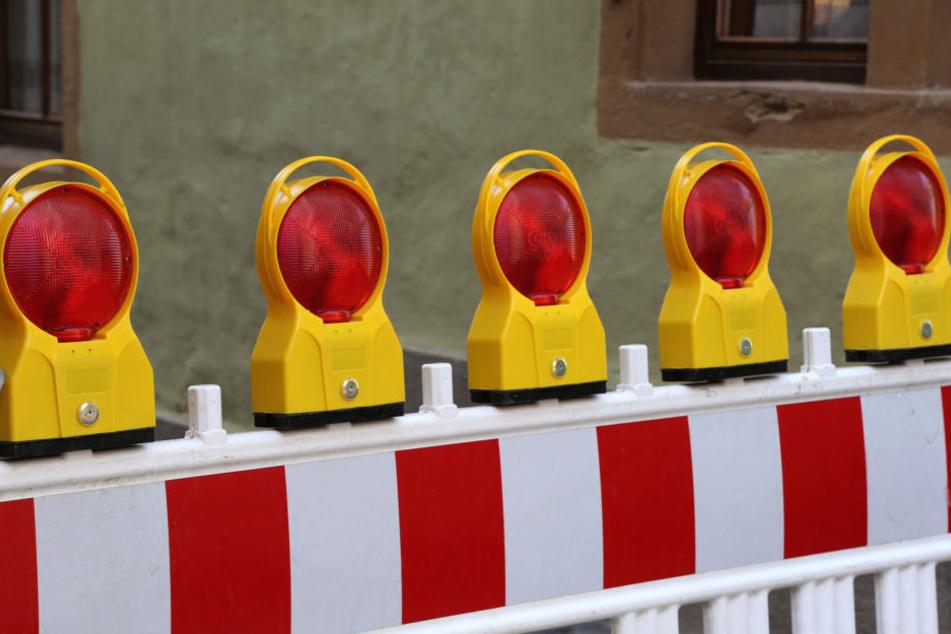 Die Gewandhausstraße muss nach einer defekten Trinkwasserleitung gesperrt werden. (Symbolbild)