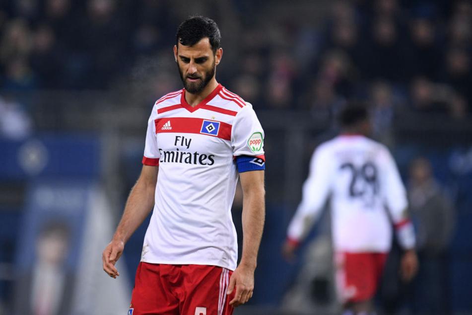 Hat in Hamburg keine Zukunft: Abwehrspieler Mergim Mavraj.