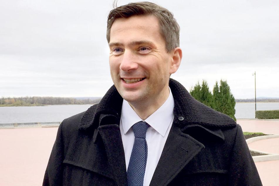 Wirtschaftsminister Martin Dulig  (43, SPD) fliegt kommende Woche nach Südafrika, danach nach Mosambik.