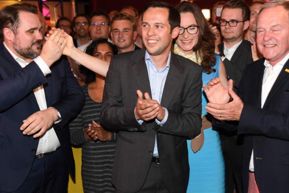 Die FDP hat es bei der Landtagswahl 2018 in den Landtag geschafft. (Archivbild)