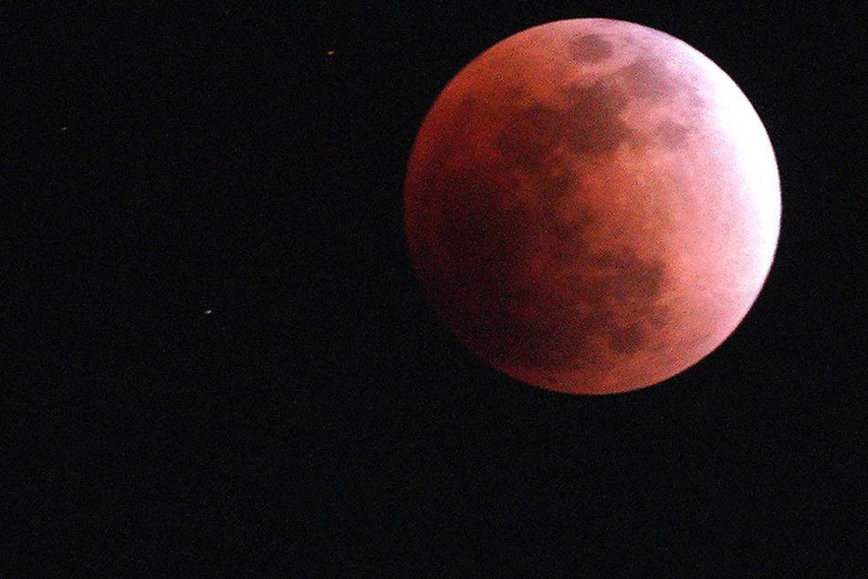 Die totale Mondfinsternis steht Ende Juli noch bevor.