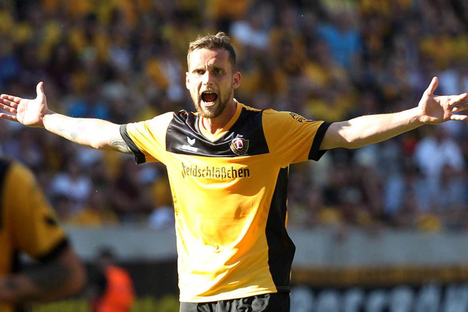 Manuel Konrad verlässt Dynamo nach zwei Jahren und sucht eine neue Herausforderung.